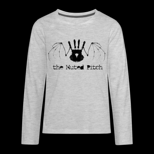 tMP Black Bat - Kids' Premium Long Sleeve T-Shirt
