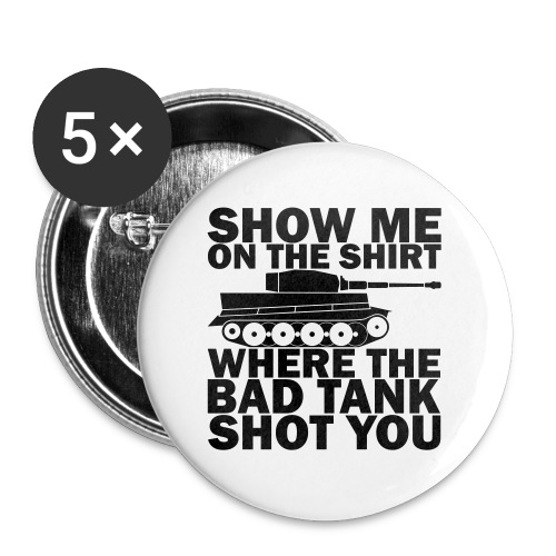 Tank Therapy - Buttons large 2.2'' (5-pack)