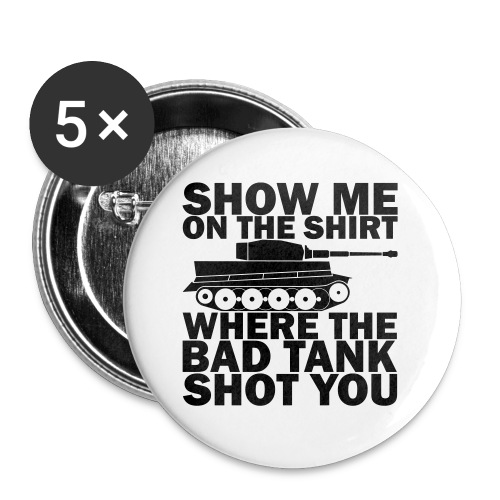 Tank Therapy - Buttons small 1'' (5-pack)