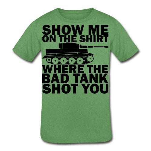 Tank Therapy - Kids' Tri-Blend T-Shirt