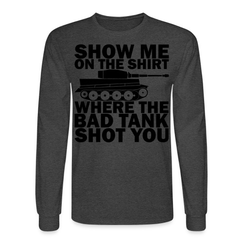 Tank Therapy - Men's Long Sleeve T-Shirt