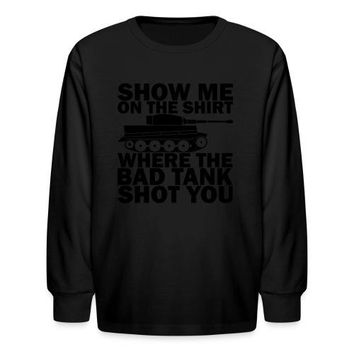 Tank Therapy - Kids' Long Sleeve T-Shirt