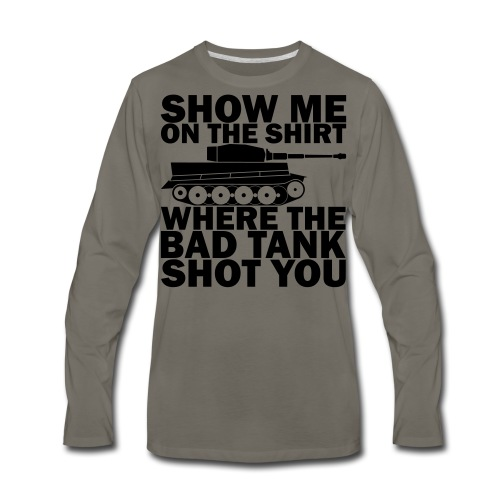 Tank Therapy - Men's Premium Long Sleeve T-Shirt