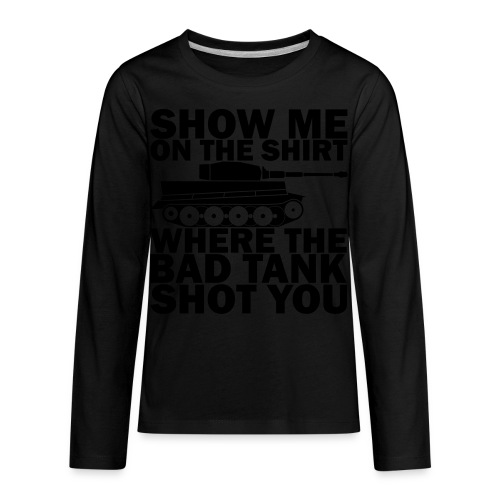 Tank Therapy - Kids' Premium Long Sleeve T-Shirt