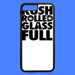 Kush Rolled Glass Full Phone & Tablet Covers - iPhone 7 Plus/8 Plus Rubber Case