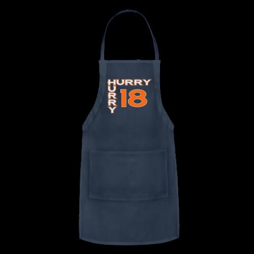 HURRY HURRY 18 - Hoodie - Adjustable Apron