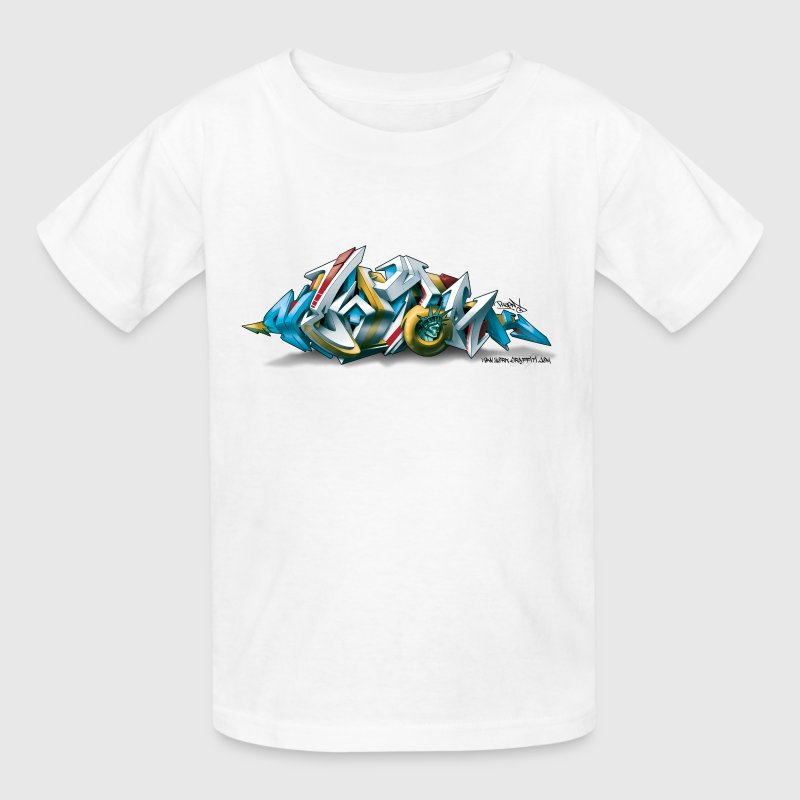 New York Graffiti - 3D Style - Children's T-Shirt - Kids' T-Shirt