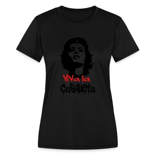 Viva Casqueta Hoodie - Women's Moisture Wicking Performance T-Shirt