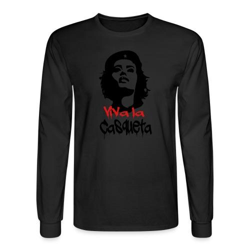 Viva Casqueta Hoodie - Men's Long Sleeve T-Shirt