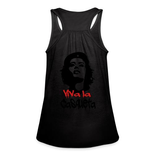 Viva Casqueta Hoodie - Women's Flowy Tank Top by Bella