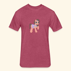 Arabian Pony - Fitted Cotton/Poly T-Shirt by Next Level