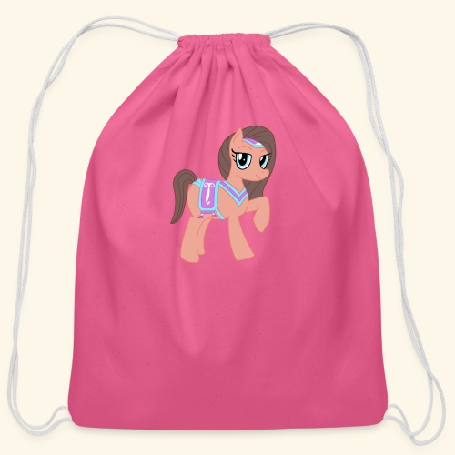 Arabian Pony - Cotton Drawstring Bag