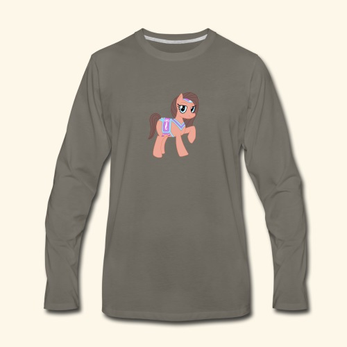 Arabian Pony - Men's Premium Long Sleeve T-Shirt