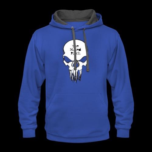 tMP Sketched Skull - Contrast Hoodie
