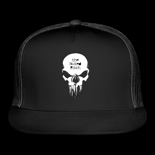 tMP Sketched Skull - Trucker Cap