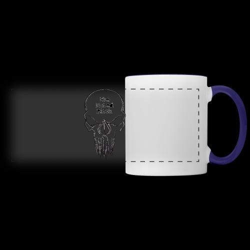 tMP Sketched Skull - Panoramic Mug