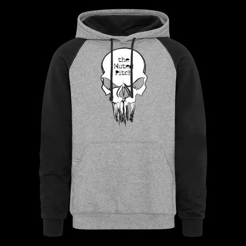 tMP Sketched Skull - Colorblock Hoodie