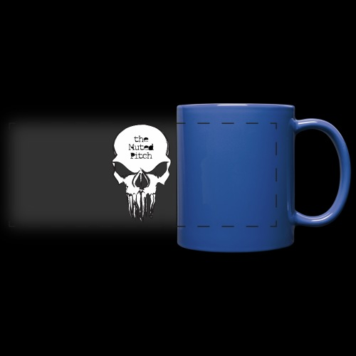 tMP Sketched Skull - Full Color Panoramic Mug