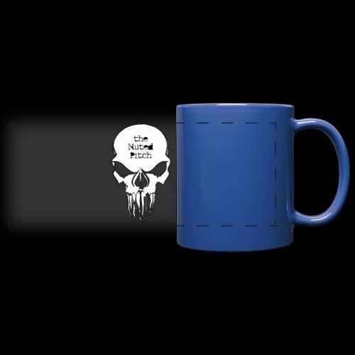 tMP Sketched Skull - Full Color Panoramic Mug