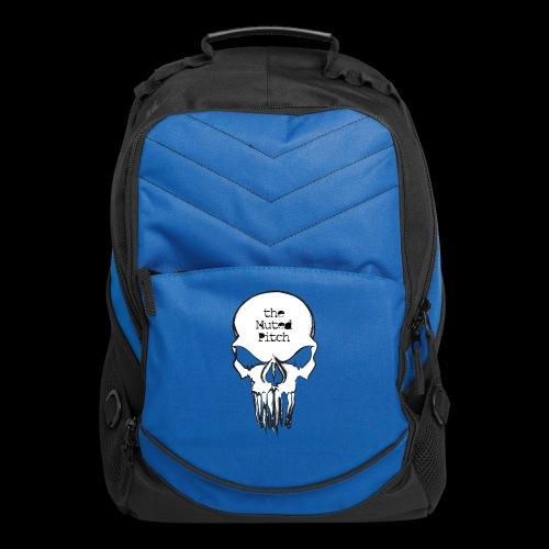 tMP Sketched Skull - Computer Backpack