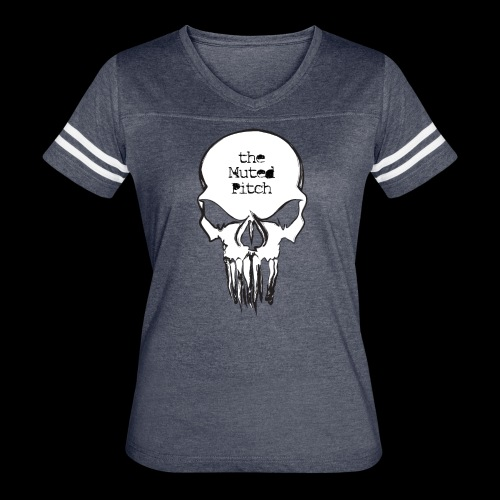tMP Sketched Skull - Women's Vintage Sport T-Shirt