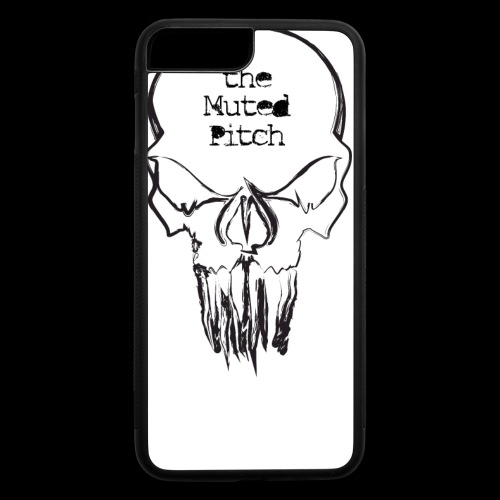 tMP Sketched Skull - iPhone 7 Plus/8 Plus Rubber Case