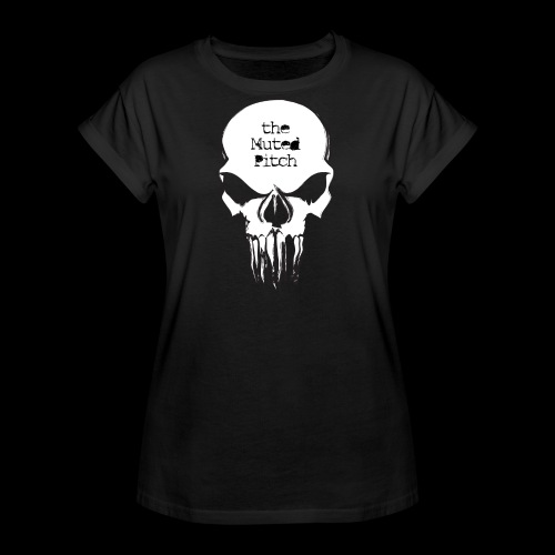 tMP Sketched Skull - Women's Relaxed Fit T-Shirt