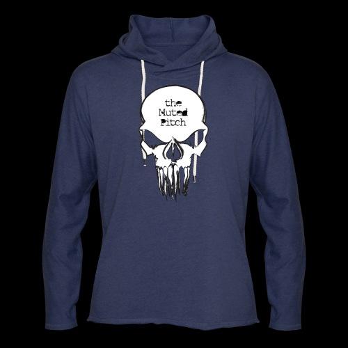 tMP Sketched Skull - Unisex Lightweight Terry Hoodie