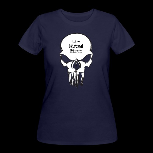tMP Sketched Skull - Women's 50/50 T-Shirt