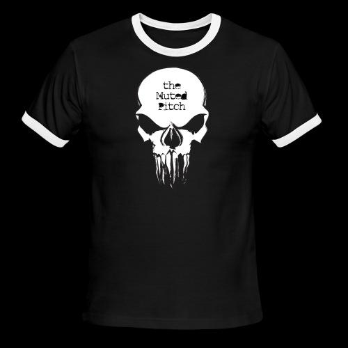 tMP Sketched Skull - Men's Ringer T-Shirt
