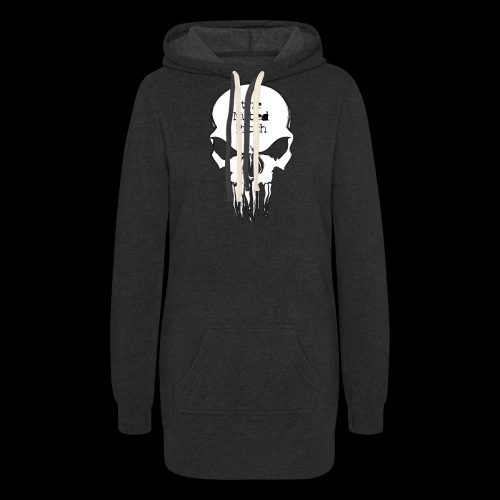 tMP Sketched Skull - Women's Hoodie Dress