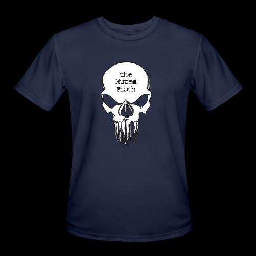 tMP Sketched Skull - Men's Moisture Wicking Performance T-Shirt