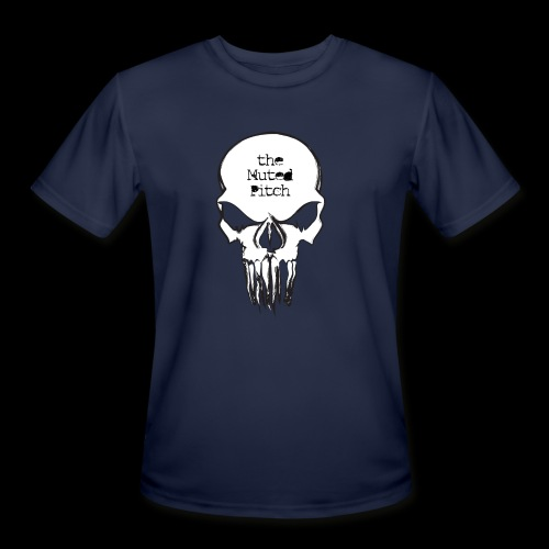 tMP Sketched Skull - Men's Moisture Wicking Performance T-Shirt