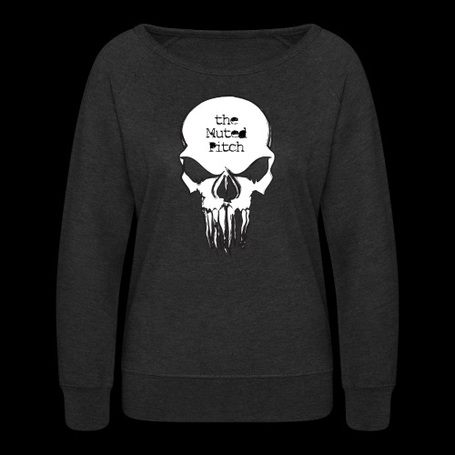 tMP Sketched Skull - Women's Crewneck Sweatshirt