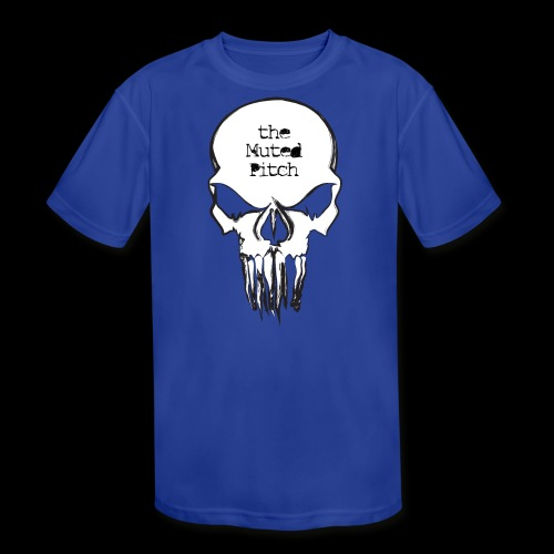 tMP Sketched Skull - Kids' Moisture Wicking Performance T-Shirt