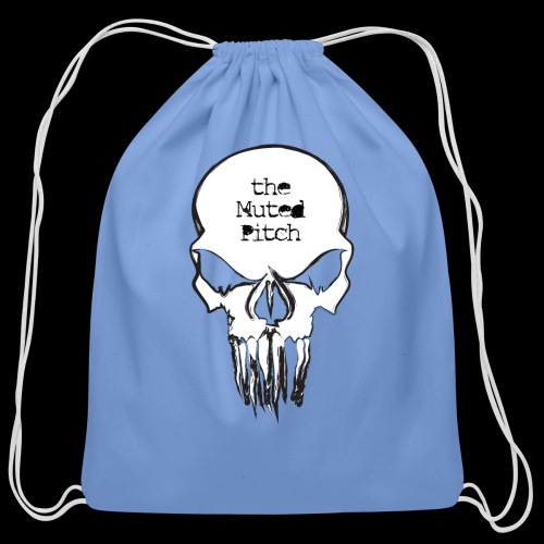 tMP Sketched Skull - Cotton Drawstring Bag