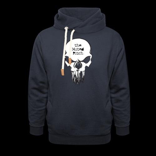 tMP Sketched Skull - Shawl Collar Hoodie