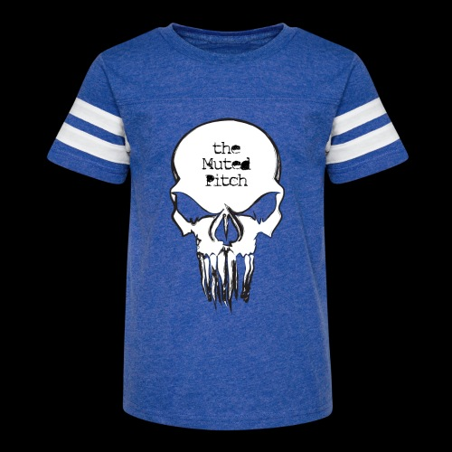 tMP Sketched Skull - Kid's Vintage Sport T-Shirt