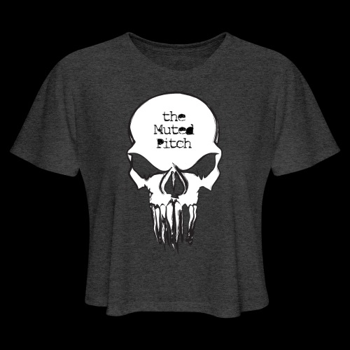 tMP Sketched Skull - Women's Cropped T-Shirt