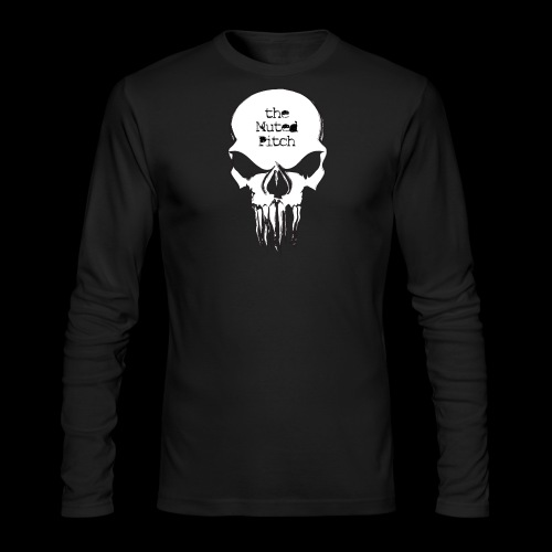 tMP Sketched Skull - Men's Long Sleeve T-Shirt by Next Level