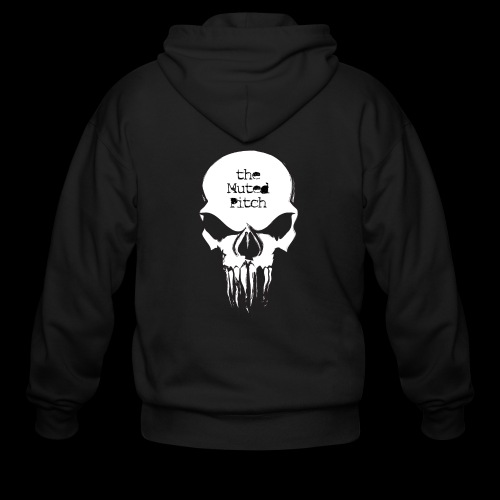 tMP Sketched Skull - Men's Zip Hoodie