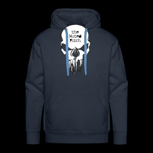 tMP Sketched Skull - Men's Premium Hoodie