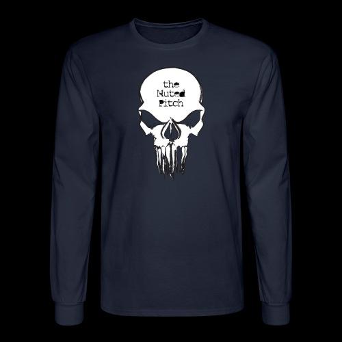 tMP Sketched Skull - Men's Long Sleeve T-Shirt