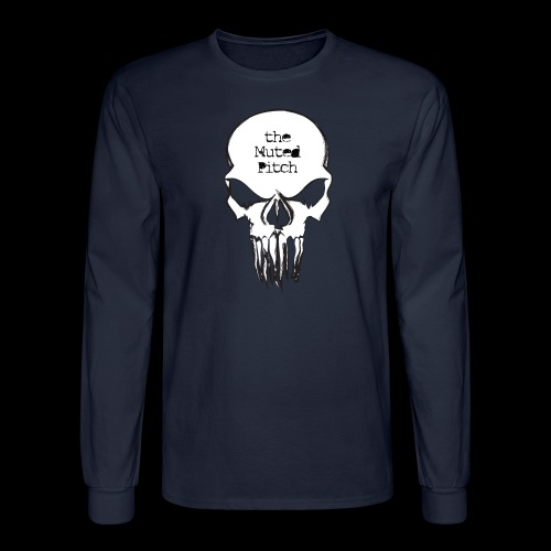 tMP Sketched Skull - Men's Long Sleeve T-Shirt
