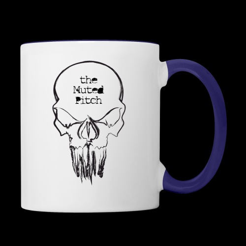 tMP Sketched Skull - Contrast Coffee Mug