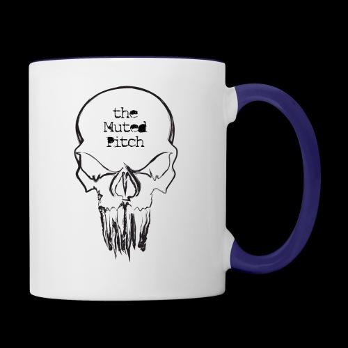 tMP Sketched Skull - Contrast Coffee Mug