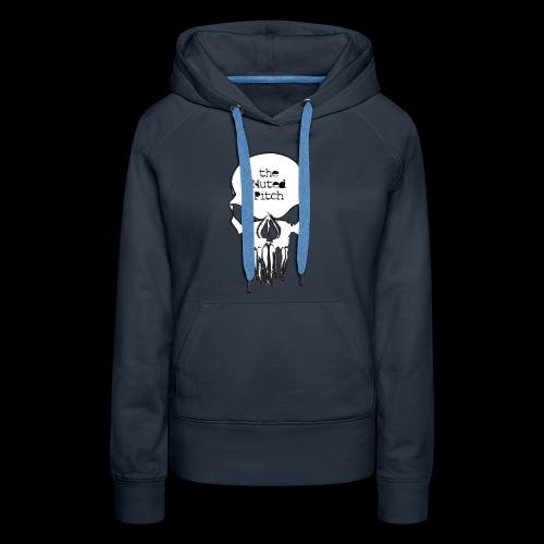 tMP Sketched Skull - Women's Premium Hoodie