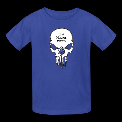 tMP Sketched Skull - Kids' T-Shirt