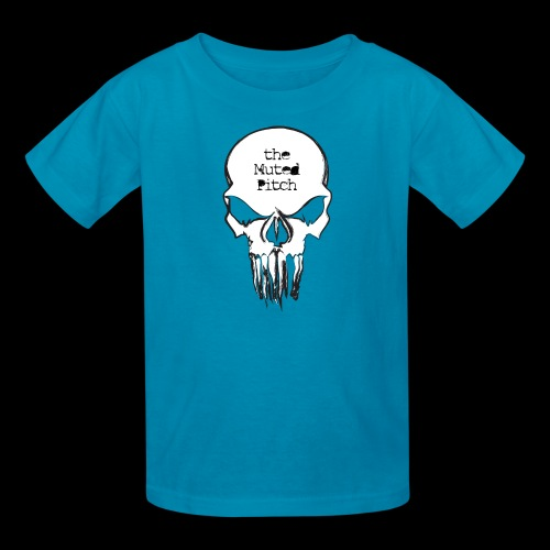 tMP Sketched Skull - Kids' T-Shirt