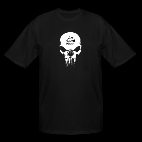 tMP Sketched Skull - Men's Tall T-Shirt